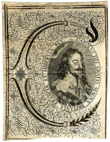 Charles I Engraving (British Library)