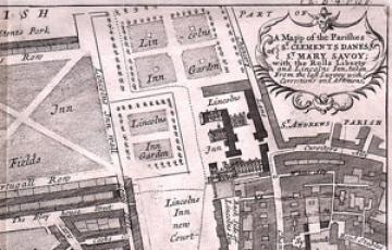 Lincoln's Inn map