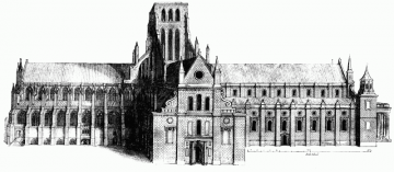 Old St Paul's Cathedral from the North - Project Gutenberg etext 16531