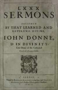 Donne's Sermons